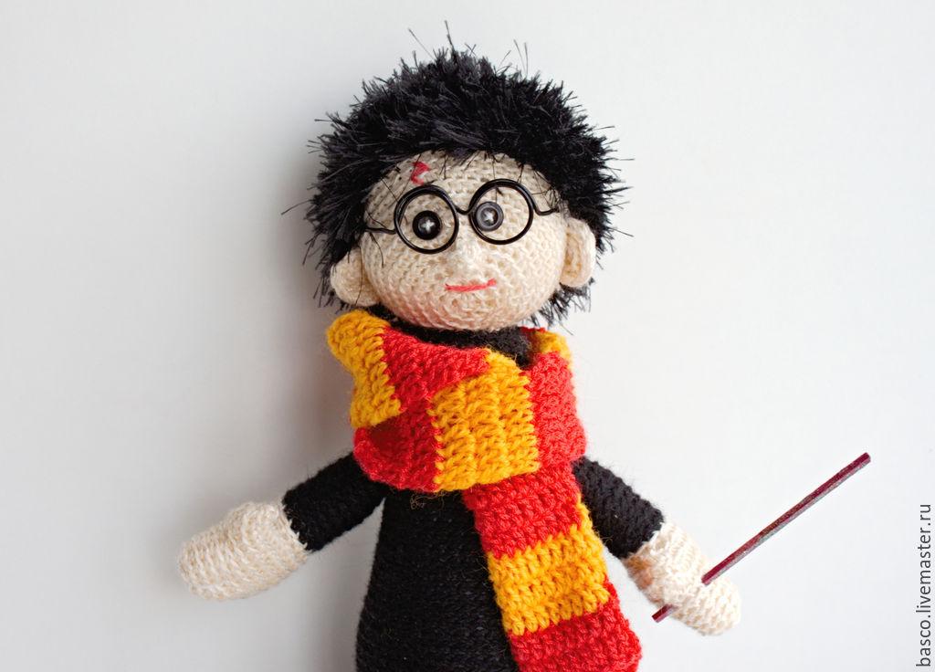 Гарри Поттер , Рон и Гермиона. Кукла вязаная. Авторская ...