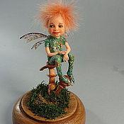 Куклы и игрушки ручной работы. Ярмарка Мастеров - ручная работа грибной эльфик. Handmade.