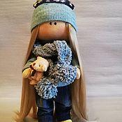 Тыквоголовка ручной работы. Ярмарка Мастеров - ручная работа Интерьерная кукла ручной работы. Handmade.
