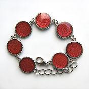 Украшения handmade. Livemaster - original item Bracelet (red). Handmade.