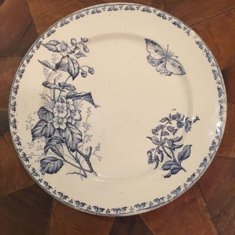 Vintage: Plate Sarreguemines, Terre de Fer, Vintage plates, Kaliningrad,  Фото №1
