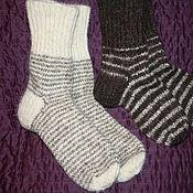 Аксессуары ручной работы. Ярмарка Мастеров - ручная работа Шерстяные носки. Handmade.
