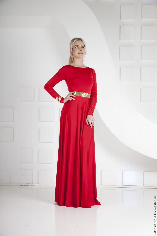 e207b8c129a Вечернее Красное Платье В Пол Фото