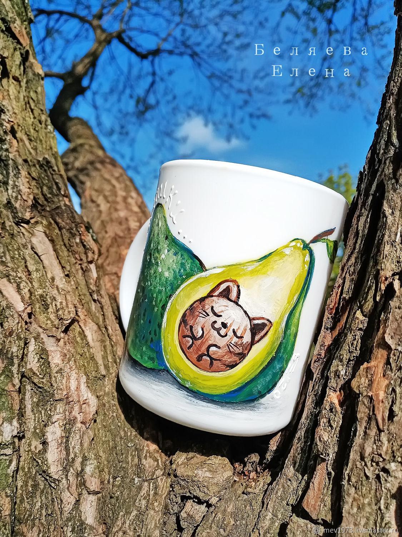 Кружки: Авокотики, Кружки и чашки, Санкт-Петербург,  Фото №1