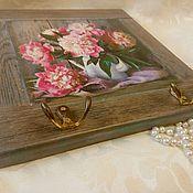 Для дома и интерьера handmade. Livemaster - original item The housekeeper panels of Peonies. Handmade.