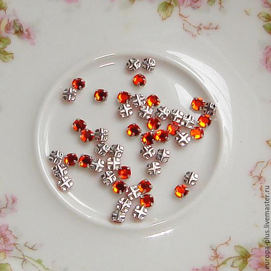 Для украшений ручной работы. Ярмарка Мастеров - ручная работа. Купить Swarovski Rose Montees 12ss - Hyacinth. Handmade.