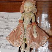 Куклы и игрушки ручной работы. Ярмарка Мастеров - ручная работа Tenerezza. Подвижная кукла. Handmade.