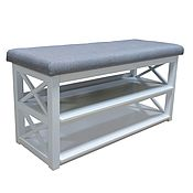 Для дома и интерьера handmade. Livemaster - original item Shoe rack, bench