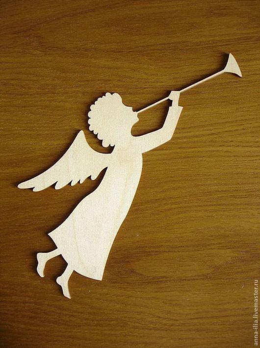 Декупаж и роспись ручной работы. Ярмарка Мастеров - ручная работа. Купить Ангел. Handmade. Белый, ангел, новый год 2014, рождество