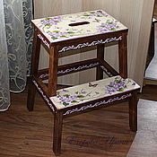 Для дома и интерьера handmade. Livemaster - original item Stool-step ladder,ladder,