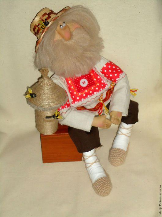 Ароматизированные куклы ручной работы. Ярмарка Мастеров - ручная работа. Купить Кукла-пасечниик. Handmade. Пасека, кукла интерьерная