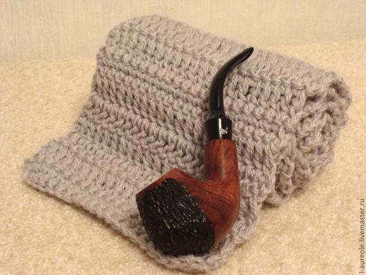 """Шарфы и шарфики ручной работы. Ярмарка Мастеров - ручная работа. Купить Благородный серый"""" шарф. Handmade. Серый, Для мужчины"""