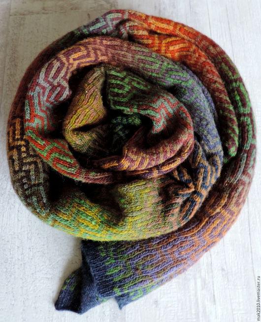 Шарфы и шарфики ручной работы. Ярмарка Мастеров - ручная работа. Купить Исландия. Handmade. Комбинированный, дундага