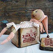 Куклы и игрушки ручной работы. Ярмарка Мастеров - ручная работа Любитель какао. Handmade.