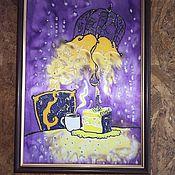 Картины и панно ручной работы. Ярмарка Мастеров - ручная работа День Рождения Оле Лукойе. Handmade.