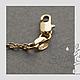 Для украшений ручной работы. Заказать Цепочка позолоченное 18 К серебро 60 - 61 см.. GalA beads. Ярмарка Мастеров.