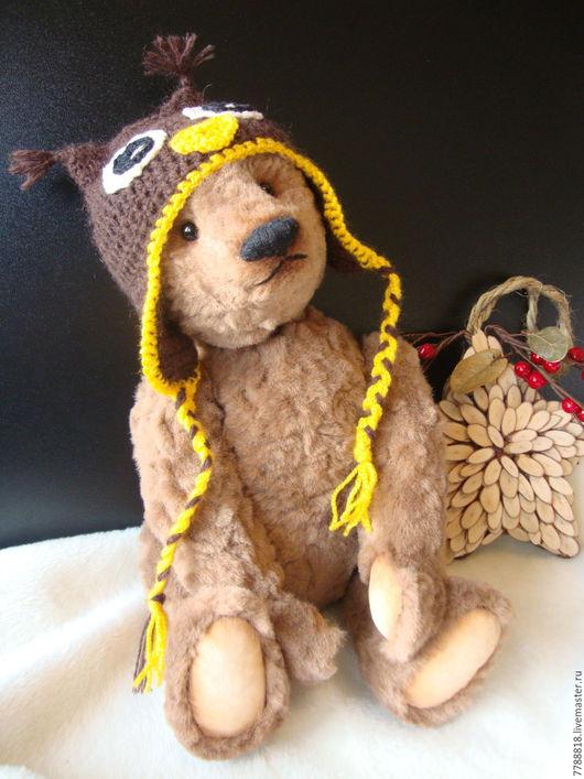 Мишки Тедди ручной работы. Ярмарка Мастеров - ручная работа. Купить Я Совенок. Handmade. Коричневый, мишка в подарок