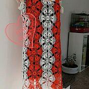 Одежда ручной работы. Ярмарка Мастеров - ручная работа Платье крючком , летнее. Хлопок. Размер EU 36-42. Handmade.