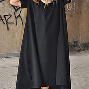 handmade. Livemaster - original item Black, elegant dress - DR0094GE. Handmade.