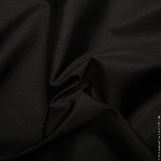 Шитье ручной работы. Ярмарка Мастеров - ручная работа. Купить Ткань. Тафта (черный). Handmade. Черный, тафта, тафта костюмная
