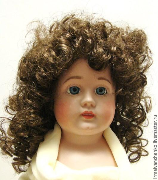 Куклы и игрушки ручной работы. Ярмарка Мастеров - ручная работа. Купить Кукольный паричок   для кукол с окружностью головы 32 - 34 см. Handmade.