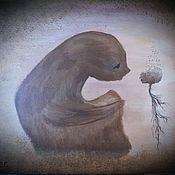 Картины и панно ручной работы. Ярмарка Мастеров - ручная работа Одинокое упование. Handmade.