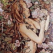 """Картины и панно ручной работы. Ярмарка Мастеров - ручная работа Картина """"Цветочная пастораль"""". Handmade."""