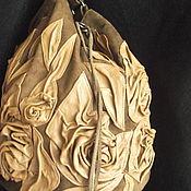 Сумки и аксессуары ручной работы. Ярмарка Мастеров - ручная работа Авторская работа. Женская сумка - бочонок. Handmade.
