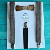 Аксессуары handmade. Livemaster - original item Wooden tie braces Django / wedding, rustic style. Handmade.