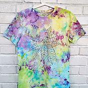 Одежда handmade. Livemaster - original item Hand-painted T-shirts for Flower Growers. Handmade.