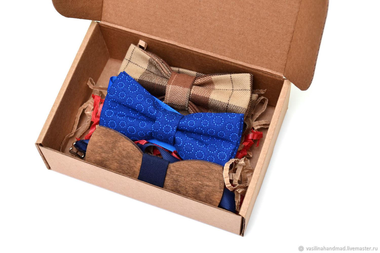 Подарочный набор галстуков-бабочек, Бабочки, Ростов-на-Дону,  Фото №1