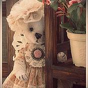 Куклы и игрушки ручной работы. Ярмарка Мастеров - ручная работа Мишка тедди Лулу. Handmade.