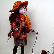 """Куклы и игрушки ручной работы. Ярмарка Мастеров - ручная работа Авторская кукла """"Вечерний променад"""" .. Handmade."""