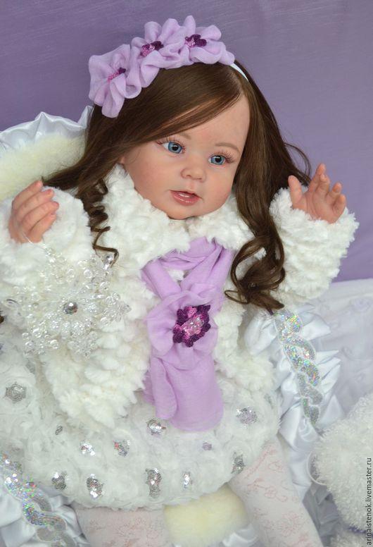 Куклы-младенцы и reborn ручной работы. Ярмарка Мастеров - ручная работа. Купить ПАУЛИНА (молд Bonnie by Linda Murray). Handmade.