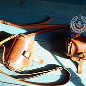 Сумки и аксессуары handmade. Livemaster - original item Crossbody bag: