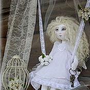 """Куклы и игрушки ручной работы. Ярмарка Мастеров - ручная работа Интерьерная кукла""""Ангел заветных желаний."""". Handmade."""