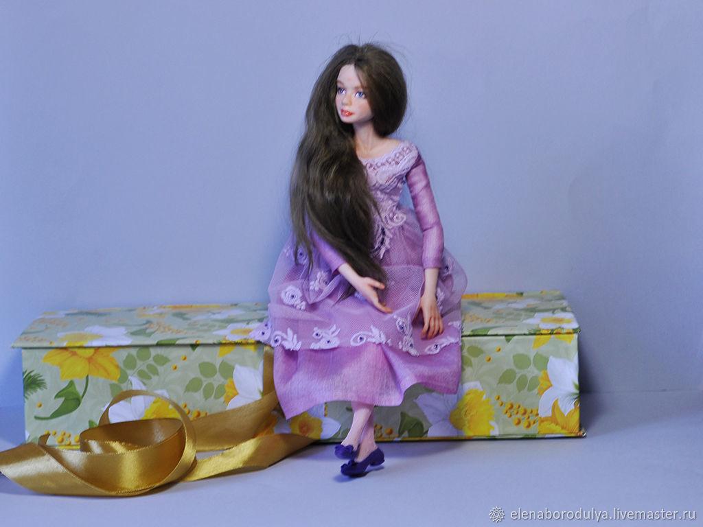 Кукла ручной работы из полимерной глины Анна, Куклы и пупсы, Пенза,  Фото №1