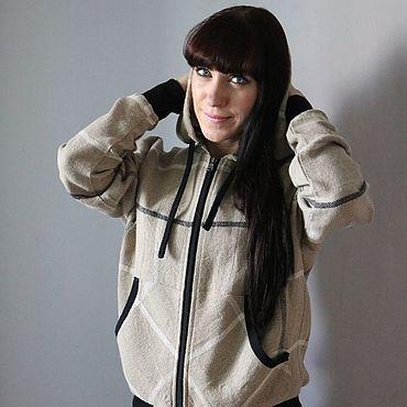 Одежда ручной работы. Ярмарка Мастеров - ручная работа Куртки: бомбер Юта. Handmade.