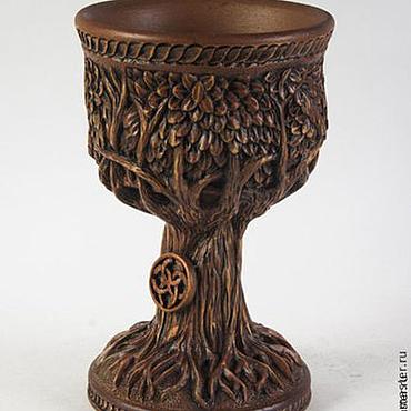 Для дома и интерьера ручной работы. Ярмарка Мастеров - ручная работа Кубок-дерево. Handmade.