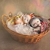 Куклы и игрушки ручной работы. Ярмарка Мастеров - ручная работа Сплюшки - два!. Handmade.