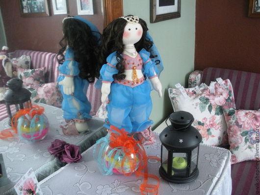 Человечки ручной работы. Ярмарка Мастеров - ручная работа. Купить Текстильная кукла Восточная красавица. Handmade. Кукла ручной работы