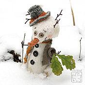 Куклы и игрушки ручной работы. Ярмарка Мастеров - ручная работа Прошлогодний снег. Handmade.