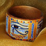 """Украшения ручной работы. Ярмарка Мастеров - ручная работа """"Око Гора"""" браслет в египетском стиле. Handmade."""