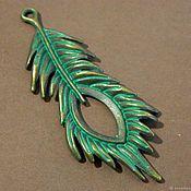 handmade. Livemaster - original item Pendant connector Bronze party for jewelry. Handmade.