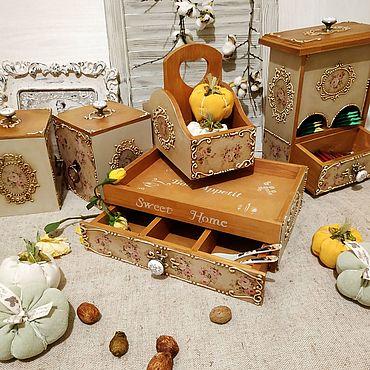 Для дома и интерьера ручной работы. Ярмарка Мастеров - ручная работа Винтажные розы. Handmade.