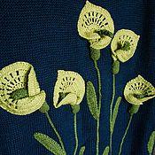 """Одежда ручной работы. Ярмарка Мастеров - ручная работа Джемпер """"Каллы"""". Handmade."""