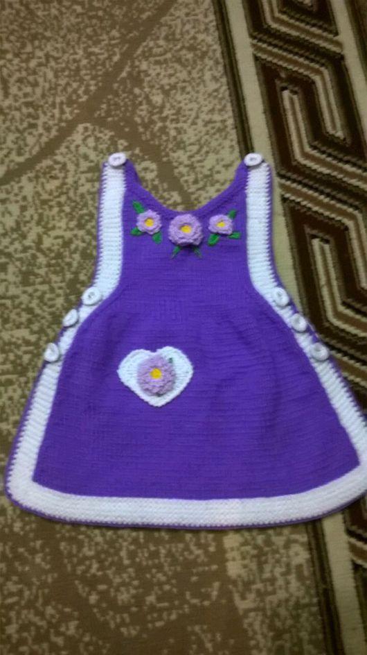 Одежда для девочек, ручной работы. Ярмарка Мастеров - ручная работа. Купить Зимний сарафан, накидка. Handmade. Сарафан, сарафан для девочки