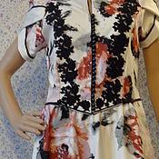 Одежда handmade. Livemaster - original item dresses: Elegant dress for summer. Handmade.