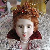 """Куклы и игрушки ручной работы. Ярмарка Мастеров - ручная работа Кукла """"Принцесса Элеонора Мантуанская """". Handmade."""