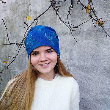 Accessories handmade. Livemaster - original item Felted hat